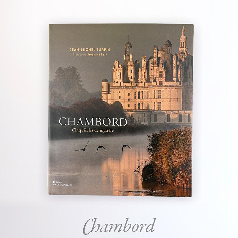 Chambord book by Jean-Michel Turpin EN