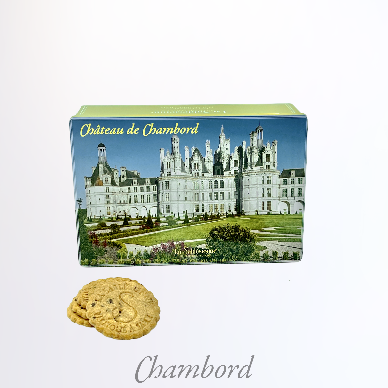 La boîte jardins à la française Chambord