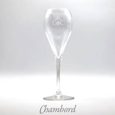 Coffret 6 flûtes à Champagne Chambord
