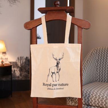 Tote bag cerf royal par nature