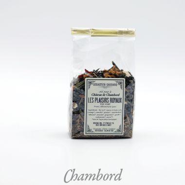 Plaisirs royaux, thé vert, S.GAUDARD
