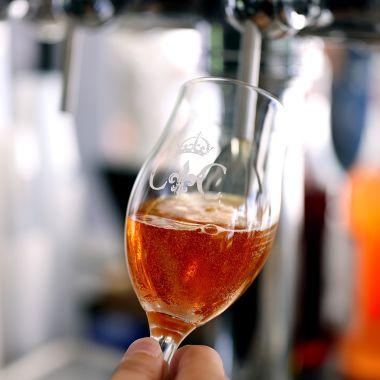 Coffret de trois verres à bière Chambord