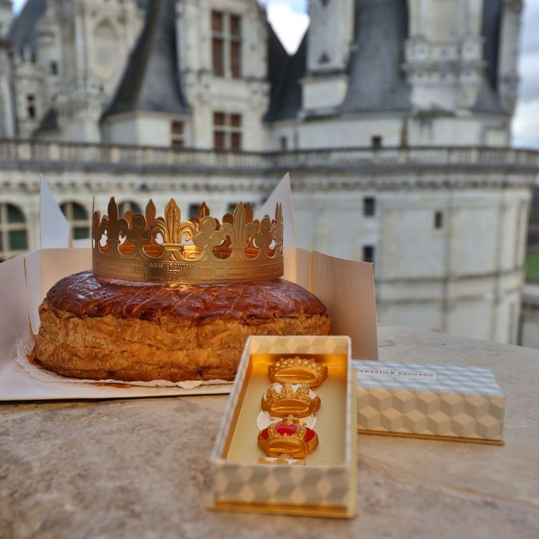 Coffret galette royale Chambord x Sébastien Gaudard